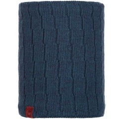 BUFF® Knitted & Polar Neckwarmer JEROEN dark denim