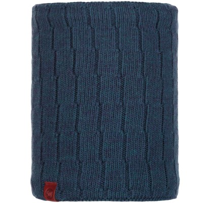 BUFF® Knitted & Polar Neckwarmer JEROEN dark denim