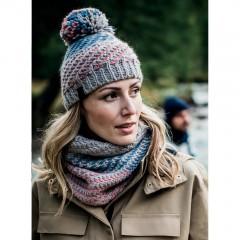 BUFF® Knitted & Polar Hat NELLA graphite
