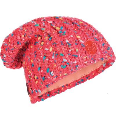 BUFF Knitted & Polar Hat YSSIK pink fluor