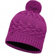 BUFF® Knitted & Polar Hat SAVVA mardi grape