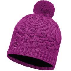 BUFF® Knitted & Polar Hat SAVVA mardi grape