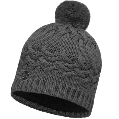 BUFF® Knitted & Polar Hat SAAVA grey castlerock