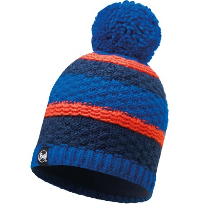 BUFF Knitted & Polar Hat FIZZ blue skydiver