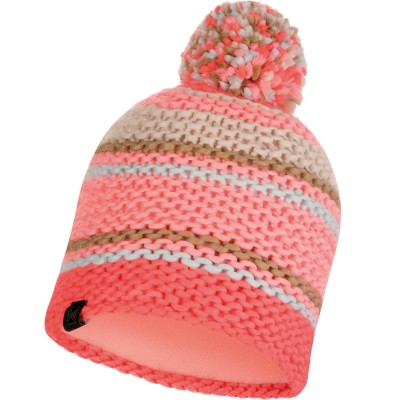 BUFF® Knitted & Polar Hat DORIAN coral pink
