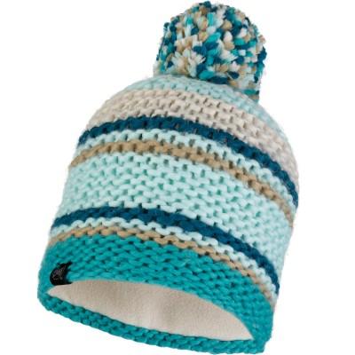 BUFF® Knitted & Polar Hat DORIAN aqua
