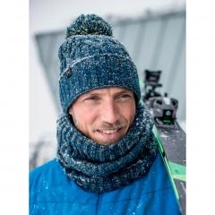 BUFF® Knitted & Polar Hat IDUN denim