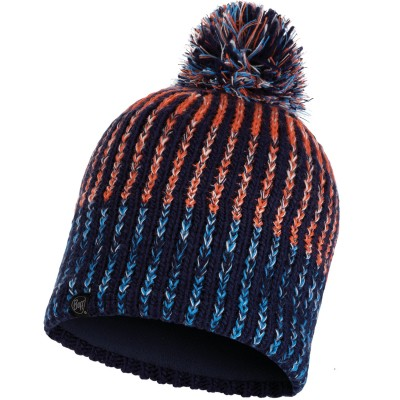 BUFF Knitted & Polar Hat IVER medieval blue