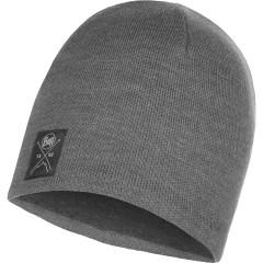 BUFF® Knitted & Polar Hat SOLID grey