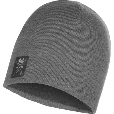 BUFF® Knitted & Polar Hat SOLID grey