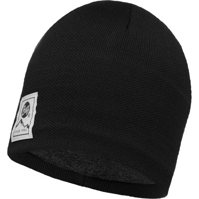 BUFF® Knitted & Polar Hat SOLID black