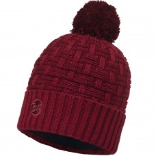 BUFF Knitted & Polar Hat AIRON wine