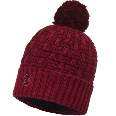 BUFF® Knitted & Polar Hat AIRON wine