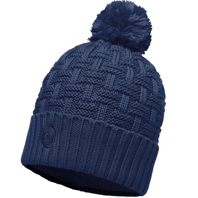 BUFF® Knitted & Polar Hat AIRON dark denim