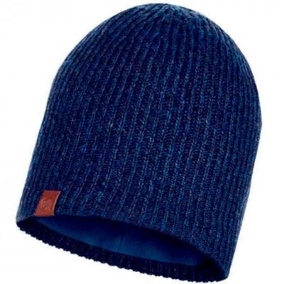 BUFF® Knitted & Polar Hat LYNE night blue