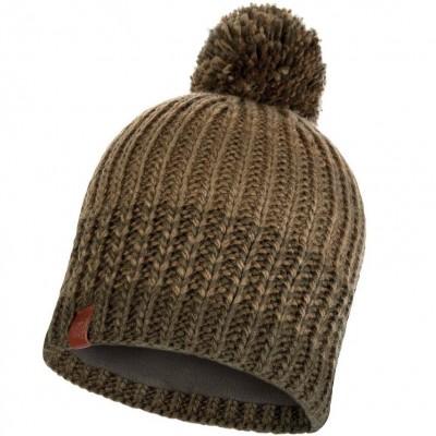 BUFF® Knitted & Polar Hat BORAE khaki