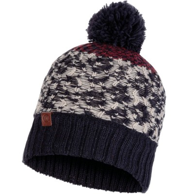 BUFF Knitted & Polar Hat THOR navy