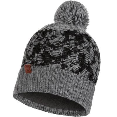 BUFF® Knitted & Polar Hat THOR grey vigoreaux