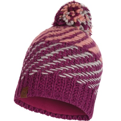 BUFF® Knitted & Polar Hat NELLA purple raspebrry