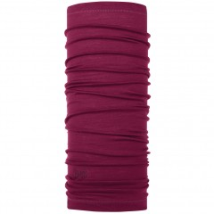 BUFF® Lightweight Merino Wool solid purple raspberry