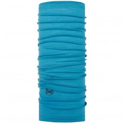 BUFF® Lightweight Merino Wool solid scuba blue