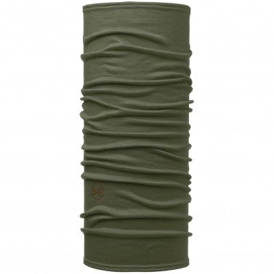 BUFF® Lightweight Merino Wool solid forest night