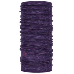 BUFF® Lightweight Merino Wool purple multi stripes