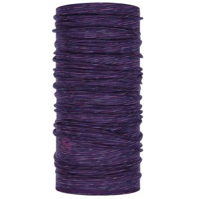 BUFF® Lightweight Merino Wool purple multi stripes