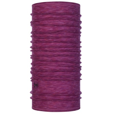 BUFF® Lightweight Merino Wool raspberry multy stripes