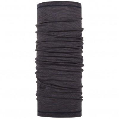 BUFF® Lightweight Merino Wool charcoal grey multi stripes