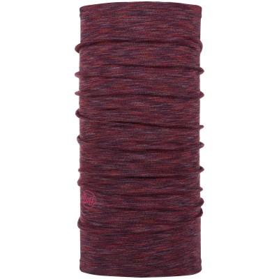 BUFF® Midweight Merino Wool shale grey multi stripes