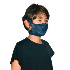 BUFF® Kids Filter Mask Kasai Night Blue