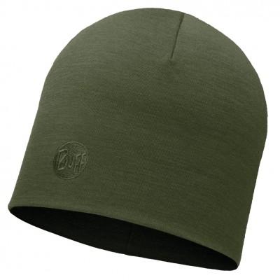 BUFF® Heavyweight Merino Wool Hat Solid forest night