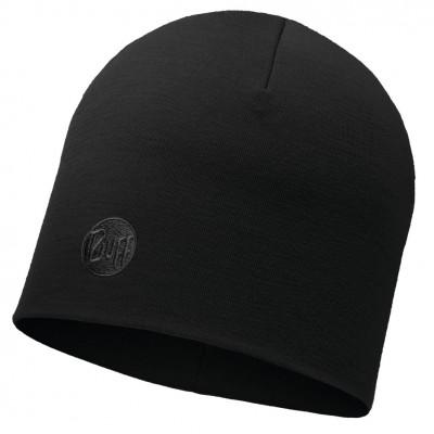 BUFF® Heavyweight Merino Wool Hat Solid black