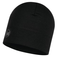 BUFF® Midweight Merino Wool Hat Solid black