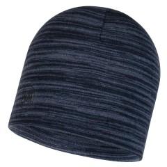 BUFF® Midweight Merino Wool Hat denim multi stripes