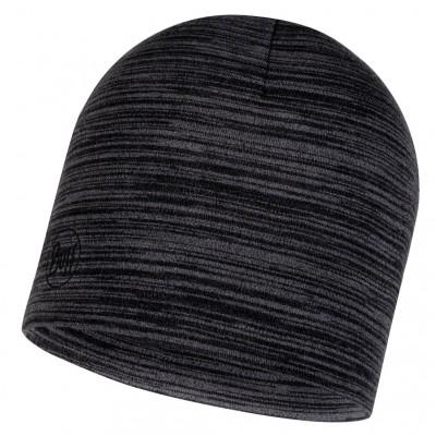BUFF® Midweight Merino Wool Hat castlerock multi stripes