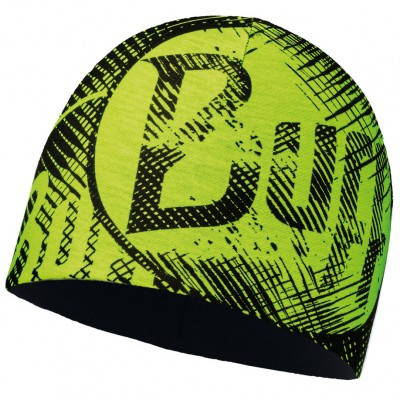 BUFF® Microfiber & Polar Hat log us yellow fluor