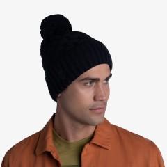BUFF® Knitted & Polar Hat AIRON black