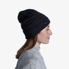 BUFF® Heavyweight Merino Wool Loose Hat solid black