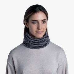 BUFF® Heavyweight Merino Wool Neckwarmer multi stripes fog grey