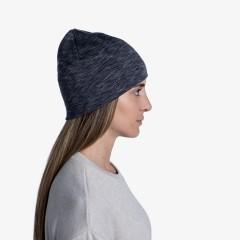 BUFF® Midweight Merino Wool Hat graphite multi stripes