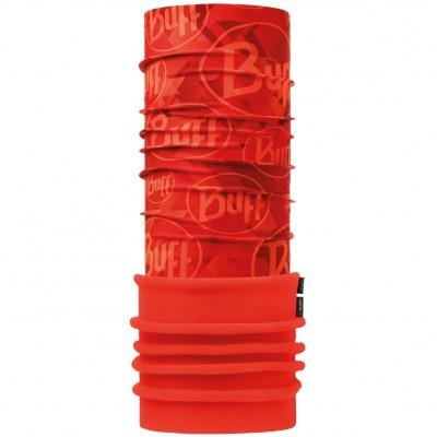 Polar BUFF® tip logo orange fluor