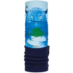 Kids Polar BUFF® snow monster blue (Polartec)