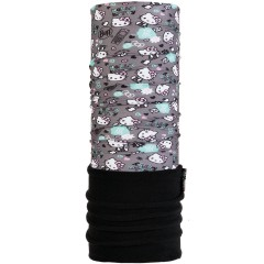 Kids Polar BUFF® Hello Kitty insta castlerock grey (Polartec)