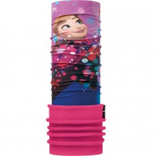 Kids Polar BUFF® Frozen anna bright pink (Polartec)