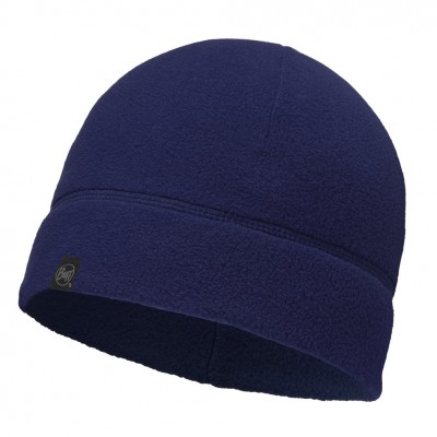 Buff Polar Hat Solid Navy