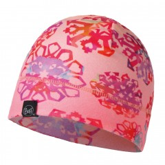 BUFF® Junior Patterned Polar Hat Origami flock flamingo pink
