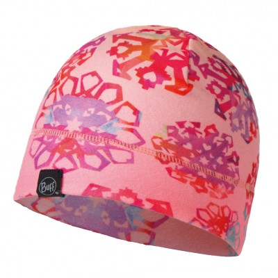 Buff Junior Patterned Polar Hat Origami flock flamingo pink