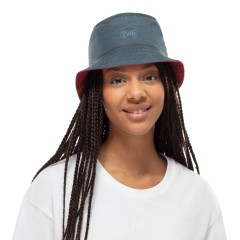 BUFF® Travel Bucket Hat Сollage red-black S/M